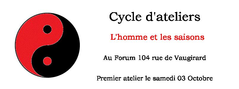 ateliers l'homme et les saisons Forum 104