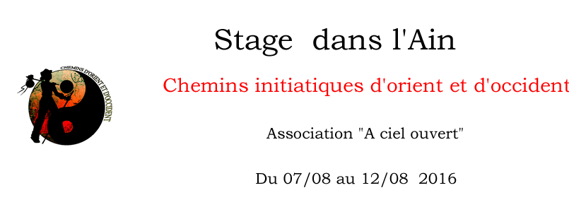 stage chemins initiatiques